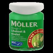 Möller Omega-3 Lihakset & nivelet 60 kaps.