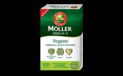 Möller Vegaani Omega-3 ja D-vitamiini 30 kaps.