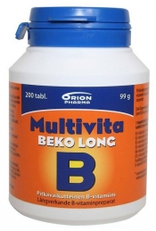 Multivita Beko Long 200 depottabl.