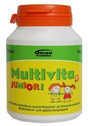 LÖYTÖ! Multivita Juniori Tutti Frutti 200 purutablettia