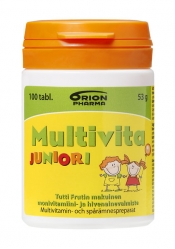 Multivita Juniori Tutti Frutti 100 purutablettia