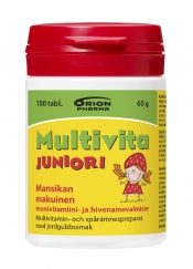 Multivita Juniori mansikka