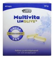 Multivita LinOlive 60 kaps.