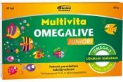 Multivita Omegalive Juniori 45kpl