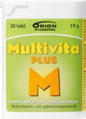 Multivita Plus 30 tabl