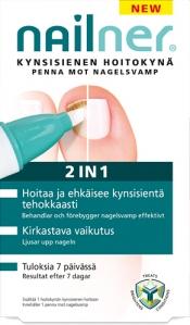 Nailner Hoitokynä 2 in 1 4 ml