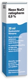 Naso NaCl 0,9 % ratiopharm 20 ml