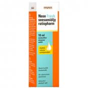 Naso Fresh seesamiöljy ratiopharm 10ml