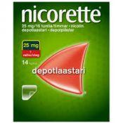Nicorette 25mg/ 16h 14 kpl