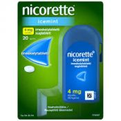 Nicorette Icemint 4 mg 20 kpl