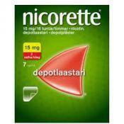 Nicorette 15 mg/16 h 7 kpl