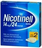 Nicotinell 14 mg/24 t depotlaastari 7