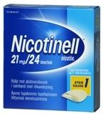 Nicotinell 21 mg/24 t depotlaastari 21