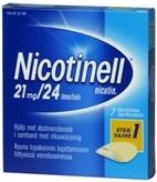 Nicotinell 21 mg/24 t depotlaastari 7