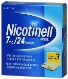 Nicotinell 7 mg/24 t depotlaastari 7