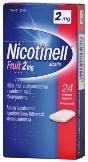 Nicotinell Fruit 2 mg lääkepurukumi 24 läpipainopakkaus