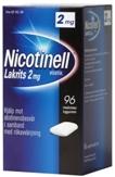 Nicotinell Lakrits 2 mg lääkepurukumi 96 läpipainopakkaus