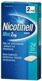 Nicotinell Mint 2 mg lääkepurukumi 24 läpipainopakkaus