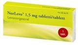 NorLevo 1,5 mg tabletti 1 läpipainopakkaus