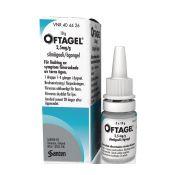Oftagel 2.5 mg/g silmägeeli 10g