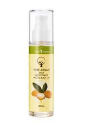 Okabo Organics Pure Argan Silky Smoothing Face&Body Oil 100 ml