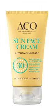 ACO Sun Face Cream Intensive Moisture SPF 30 50ml