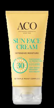 ACO Sun Face Cream Intensive Moisture SPF 30 50ml