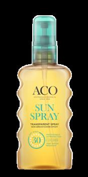 ACO Sun Transparent Spray SPF 30 175 ml