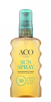 ACO Sun Transparent Spray SPF 30 175 ml