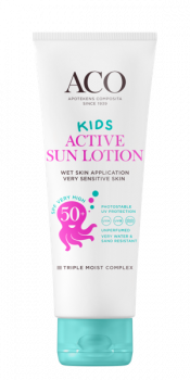 ACO Sun Kids Lotion Active SPF 50+ 125 ml