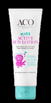 ACO Sun Kids Lotion Active SPF 50+ 125 ml