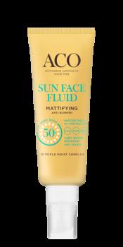 ACO Sun Face Fluid Mattifying  SPF 50+ 40 ml