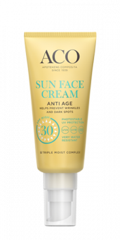 Aco Sun Face Cream Anti Age SPF 30 40 ml