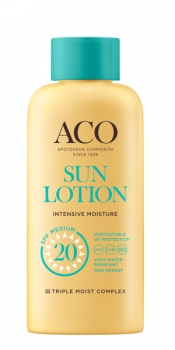 ACO Sun Lotion Intensive Moisture SPF 20 200 ml