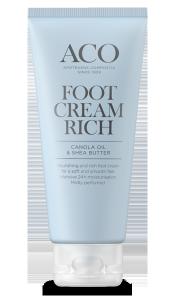 Aco Foot Cream Rich täyteläinen jalkavoide 100 ml