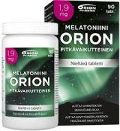 Melatoniini Orion 1,9mg Pitkävaikutteinen 90 tabl.