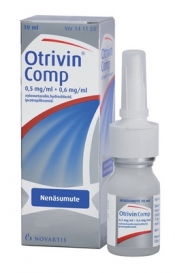 Otrivin Comp 0,5mg/ml + 0,6 mg/ml nenäsumute 10 ml