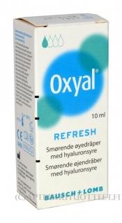 Oxyal Refresh kostuttavat silmätipat 10 ml
