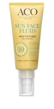 Aco Sun Face Fluid Mattifying Spf 30 40ml