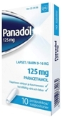 Panadol 125 mg peräpuikko 10