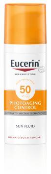 Löytö! Eucerin Anti-Age Control Sun Fluid SPF50  50 ml (parasta ennen 12/2021)