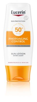 Löytö! Eucerin Photoaging Contol Sun Lotion Extra Light SPF50+  150ml (parasta ennen 7/20)