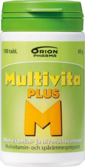 Multivita Plus 100 tabl