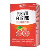 Posivil FluZink Veriappelsiini 40 tabl.