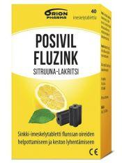 Posivil Fluzink Sitruuna-Lakritsi