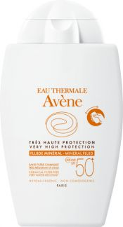 Avène Very High Protection Mineral Fluid SPF 50+ 40ml
