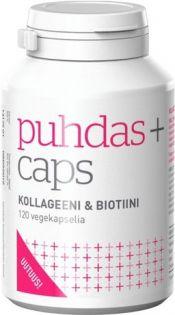 Puhdas+ Beauty Kollageeni & Biotiini vegekaps 120 kpl