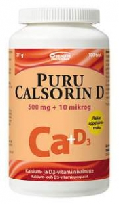 Puru Calsorin D3 500 mg + 10 µg 100 tabl.
