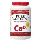 Puru Calsorin 500 mg + D3 20 mcg 100 tabl.