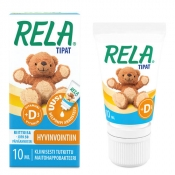 Rela Drops + D-vitamiini tipat 10 ml